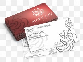Mary Kay - Mary Kay Cosmetics Coated Paper Business Cards Printer PNG