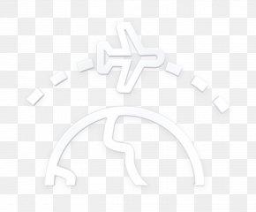 Blackandwhite Symbol - Travel Icon Aviation Icon PNG