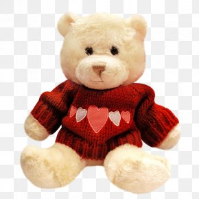 Doll Bear - Bear Valentines Day Love February 14 PNG