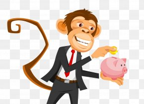 Save Monkeys - Homo Sapiens Monkey Illustration PNG
