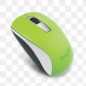 Computer Mouse - Computer Mouse Pelihiiri Genius NX-7005 Mouse Button PNG
