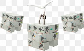 Gymnasts On The Cube - Summer Olympic Games Rubiks Cube Poster Sport PNG