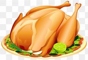 Roast Turkey Clipart Image - Turkey Clip Art PNG