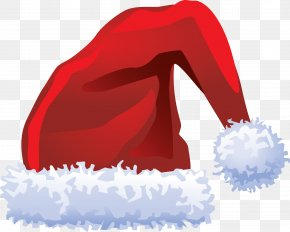 Christmas Red Hat - Ded Moroz Santa Claus Bonnet Hat PNG