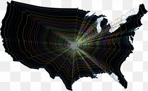 Map - United States Of America Vector Graphics U.S. State Map Illustration PNG