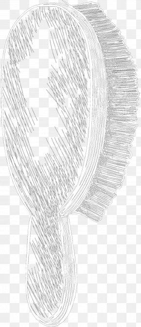 M Headgear - Sketch Line Art Product Design Black & White PNG