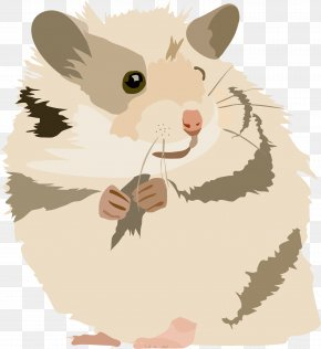 Cute Cliparts Gerbils - Golden Hamster Gerbil Mouse Rodent PNG