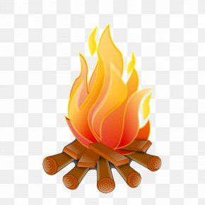 Fire - Campfire Firelog Combustion Clip Art PNG