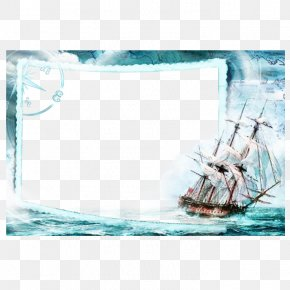 Sailing Picture Frame - Library Picture Frame Icon PNG