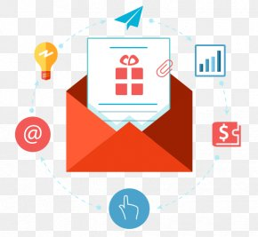 Email - Digital Marketing Email Marketing Flat Design Electronic Mailing List PNG