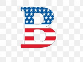 American Flag - English Alphabet Letter Flag Of The United States PNG