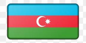 Flag - Flag Of Azerbaijan Flag Of Azerbaijan National Emblem PNG