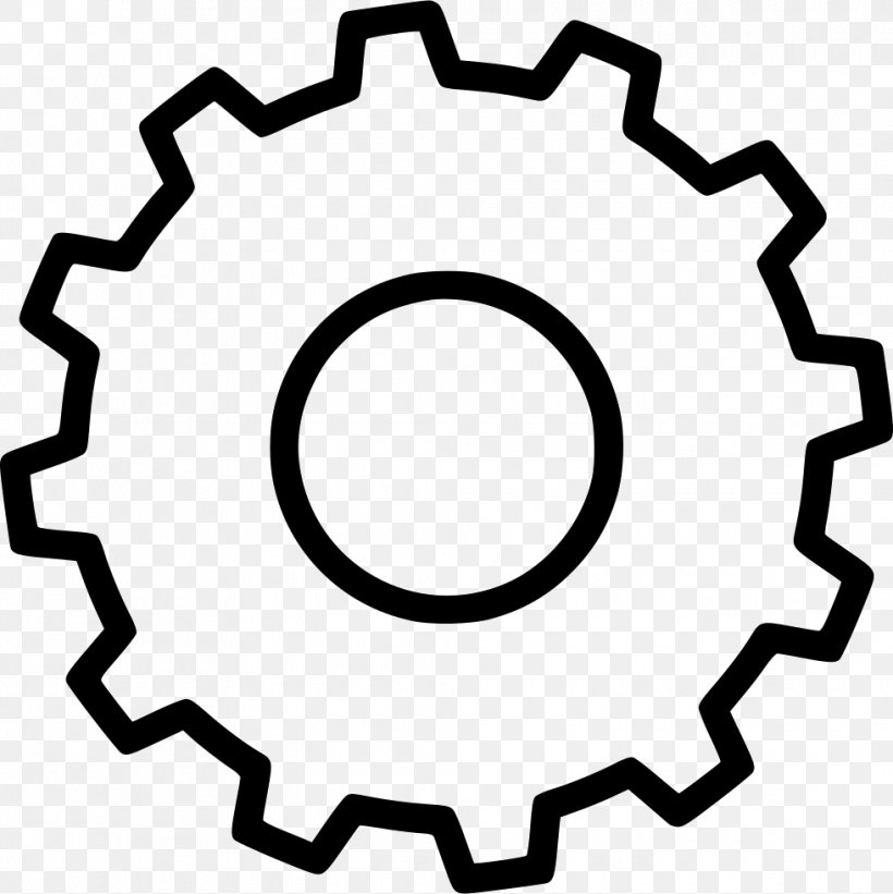 Sprocket Png 980x982px Sprocket Area Bicycle Black And White Computer Software Download Free