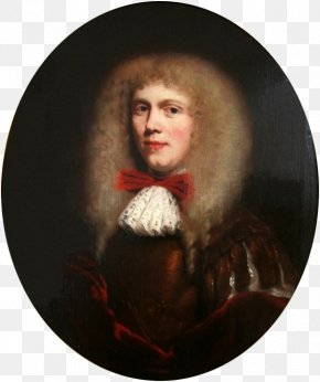 Painting - Nicolaes Maes Portrait Of A Man In A Wig Painting PNG