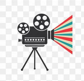 Vector Dark Movie Projector - Cinematography Video Camera Film Euclidean Vector PNG