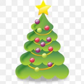 Icon Free Christmas Tree - Christmas Tree PNG