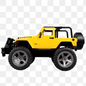 Large Toy Car Jeep Wrangler - Jeep Wrangler Car Toy PNG