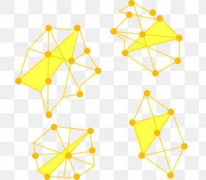 Vector Yellow Lines Galaxy - Line Euclidean Vector Irregular Galaxy PNG