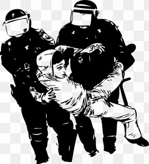 Anarchy - Police Brutality United States Police Officer Racism PNG