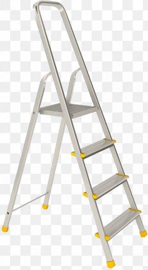Ladder - Ladder Stairs Werner Co. Aerial Work Platform PNG