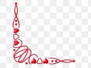 Valentine Corner Cliparts - Valentines Day Clip Art PNG