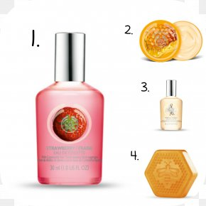 Perfume - Perfume Eau De Toilette The Body Shop Strawberry Deodorant PNG