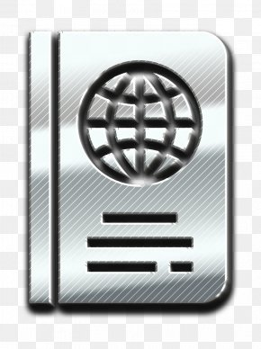Metal Steel - Passport Icon PNG