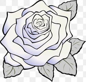 Rose Clip Art - Rose White Clip Art PNG