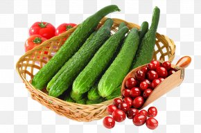 Basket Of Cucumbers And Dates - Cucumber Later Zhao Food Vegetable Eating PNG