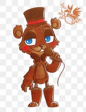 Toy Freddy - Five Nights At Freddy's 2 Cartoon Fan Art Illustration PNG
