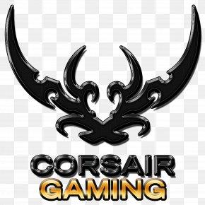 Game Logo - Computer Keyboard Corsair Components Gamer Logo Computer Software PNG