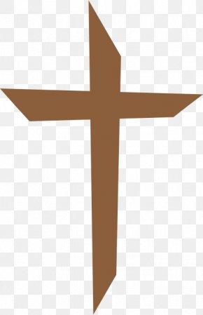 Brown Cross Cliparts - Cross Symbol Clip Art PNG