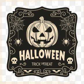 Hand-painted Background Vector Halloween - Halloween Costume Trick-or-treating T-shirt PNG