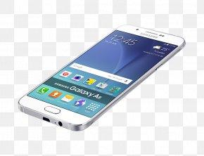 Samsung - Samsung Galaxy A8 / A8+ Samsung Galaxy Note 4 Android Smartphone PNG