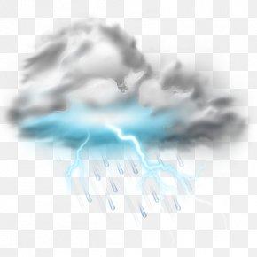 Lightning - Lightning Thunderstorm Cloud PNG