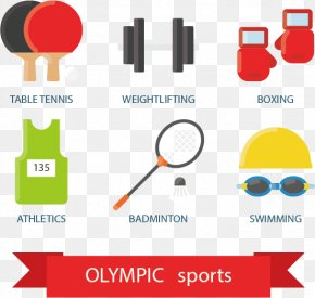 Sports Equipment Vector Illustration Material - Royalty-free Stock Photography Illustration PNG