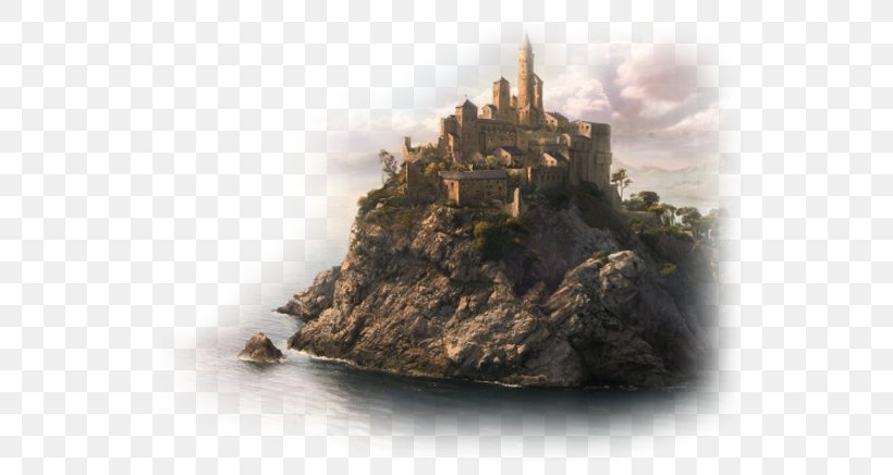 Desktop Wallpaper Landscape Painting Png 600x436px Landscape Art Castle Computer Monitors Concept Art Download Free