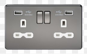 Power Socket - Battery Charger AC Power Plugs And Sockets Electrical Wires & Cable Electronics Electrical Switches PNG