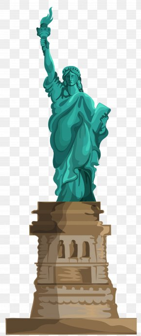 Transparent Statue Of Liberty Clipart - Statue Of Liberty Battery Park Ellis Island New York Harbor American Museum Of Immigration PNG