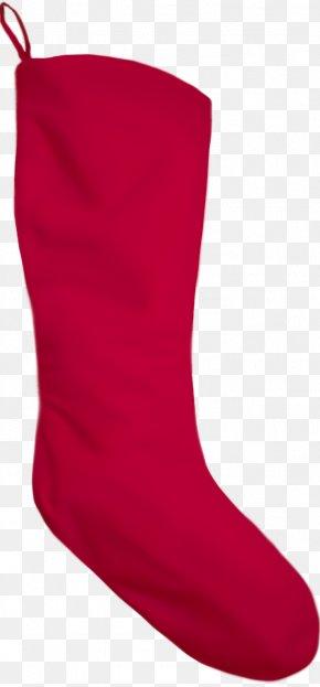 Trousers Carmine - Christmas Stocking Christmas Socks PNG