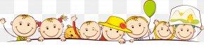 Cute Kids Cartoon - Kindergarten Child School Clip Art PNG