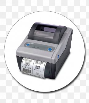 Printer - Barcode Printer Label Printer Thermal-transfer Printing SATO CG 408 PNG
