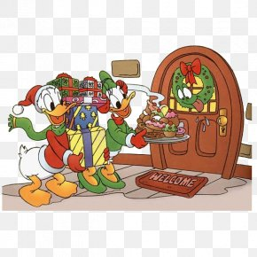 Donald Duck - Donald Duck Mickey Mouse Christmas Day Clip Art The Walt Disney Company PNG