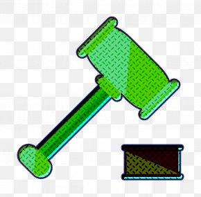 Green Business Icon - Auction Icon Law Icon Business Icon PNG