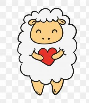 Cartoon Sheep - Cartoon Download PNG