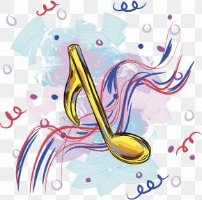 Cartoon Musical Note - Musical Note Clip Art PNG