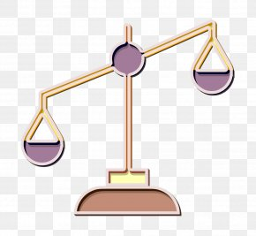 Metal Balance - Business Icon Justice Scale Icon Law Icon PNG