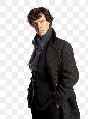 Benedict Cumberbatch - Benedict Cumberbatch Sherlock Holmes Doctor Watson Coat PNG