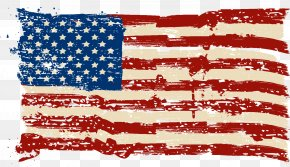 America Flag Picture - Flag Of The United States Pledge Of Allegiance T-shirt PNG