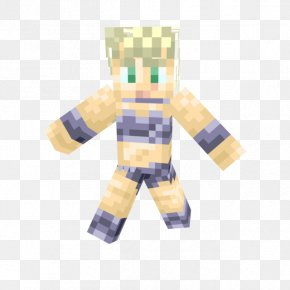 Chrono Trigger - Chrono Trigger Minecraft Video Game Ayla Hair PNG